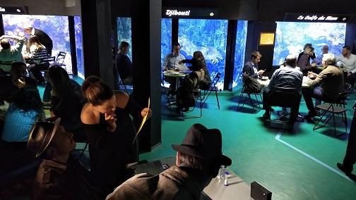 Une murder party à l'aquarium de Lyon